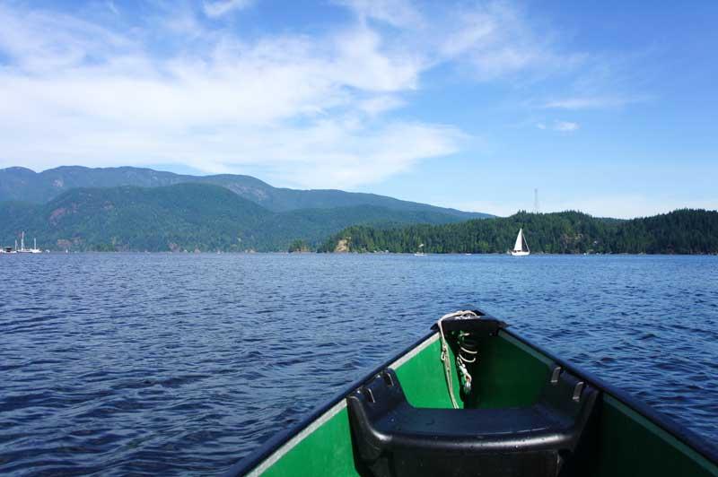 Kanu fahren Vancouver