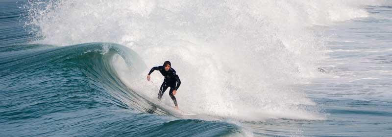 surfen in tofino
